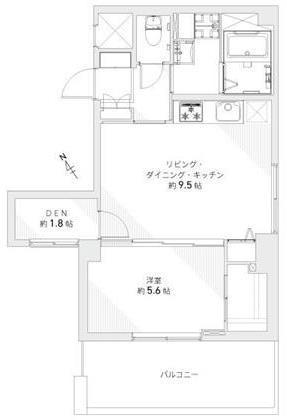 南青山ロータリーマンション6F間取り図