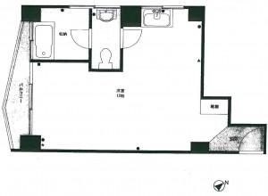 パレス青山709号室
