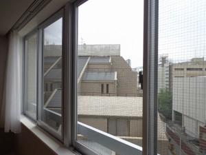 青山コーポラスの洋室からの眺望