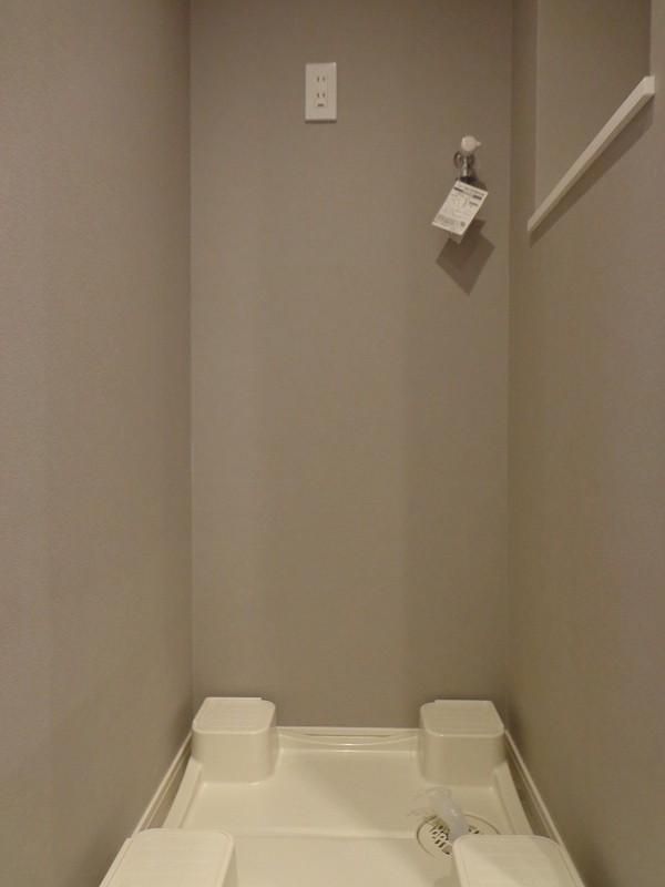 青山コーポラスの洗濯機置き場