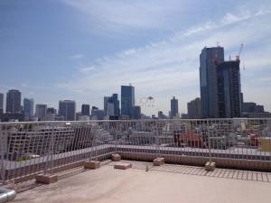 赤坂アーバンライフの屋上