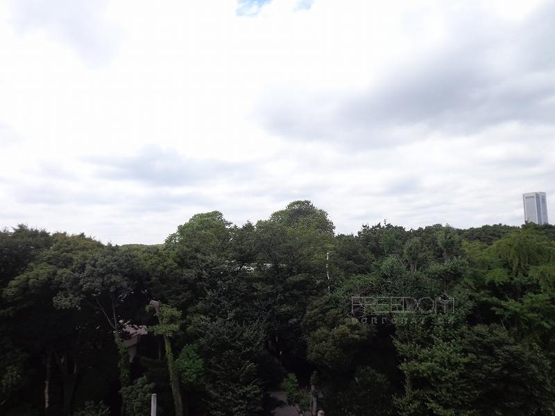 秀和第二神宮レジデンス-屋上からの眺望写真