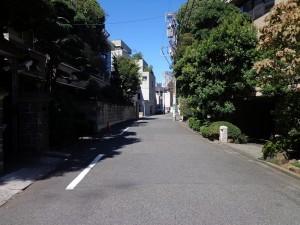 渋谷4丁目道路