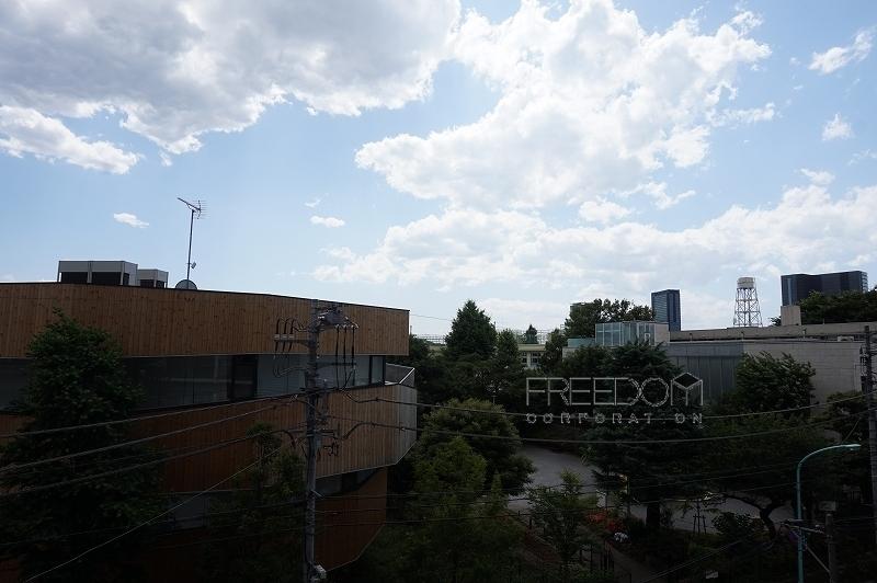 秀和代官山4Fからの眺望写真