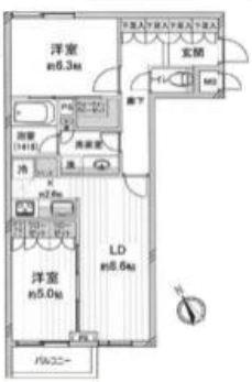 ザ・レジデンシャル北青山2F_間取り図