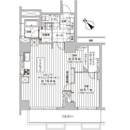 赤坂台マンション301号室 (1)