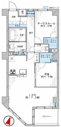 リシェ広尾1204号室 (1)