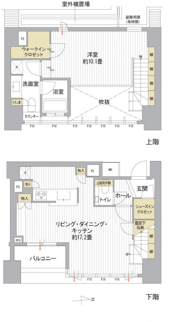 南青山マスターズハウス8-9Fメゾネット (1)