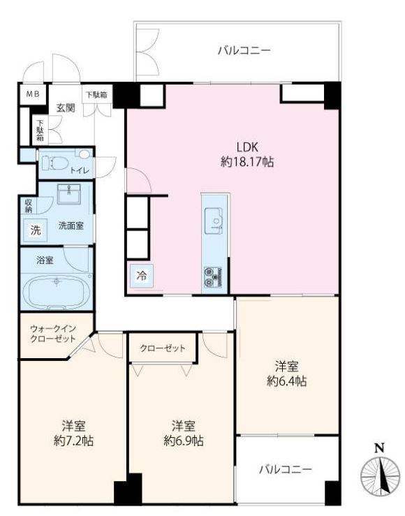 インペリアル広尾317号室 (1)