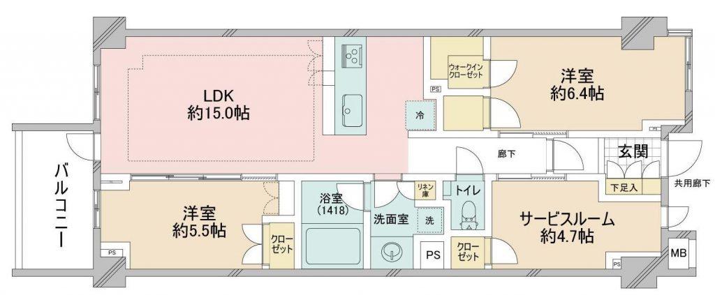 オープンレジデンシア表参道est_3F