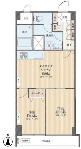 秀和麻布永坂レジデンス平面図のコピー