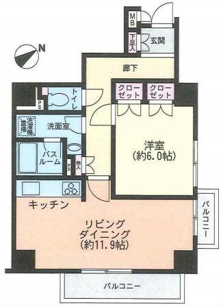 パーク・ノヴァ神宮前5F (1)