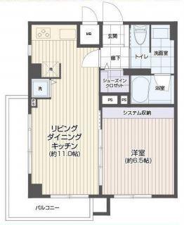 秀和麻布笄町レジデンス 606号室 (1)