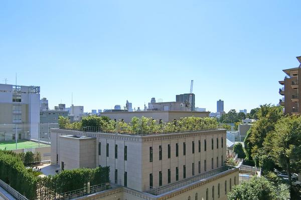 広尾ガーデンヒルズB棟4F_眺望写真