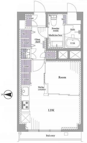 秀和第2神宮レジデンス511号室