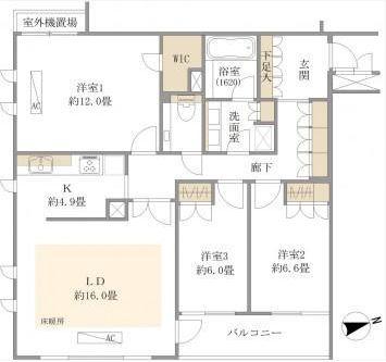 グレディール赤坂204号室 (1)