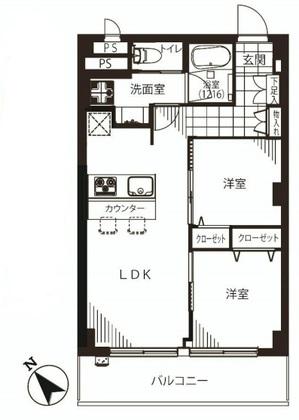 ボーン赤坂103号室平面図 - コピー.jpg