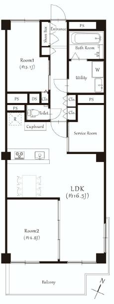 ライオンズマンション南平台1005号室.png
