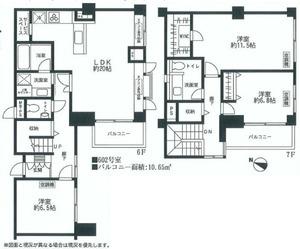 シャンボール常磐松最上階平面図.jpg