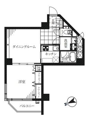 チュリス氷川坂 407号室平面図 - コピー.jpg