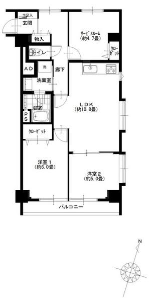 ハイネス麻布801号室 (1) - コピー.jpg