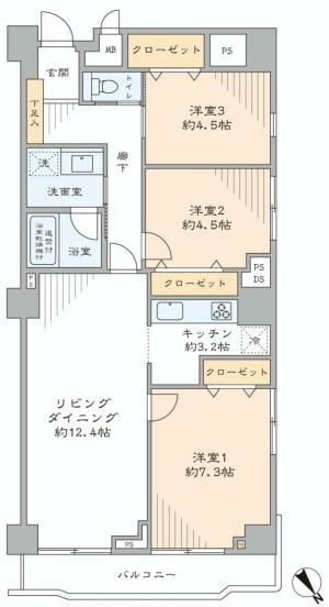 南平台セントラルハイツ601号室 (5) - コピー.jpg