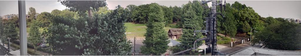 パークサイド代々木公園景色3