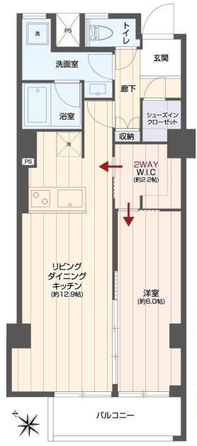 秀和赤坂レジデンス204号室 - コピー.jpg