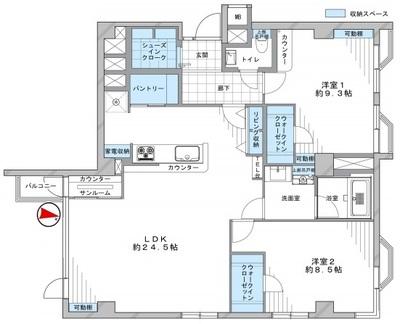 乃木坂パークマンション301号室 (1) - コピー.jpg