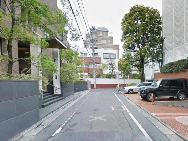 東高原宿ペアシティ前面道路.jpg