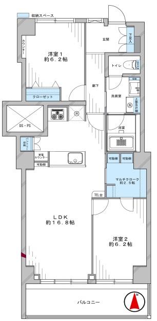 マンション恵比寿苑303号室 (1) - コピー.jpg