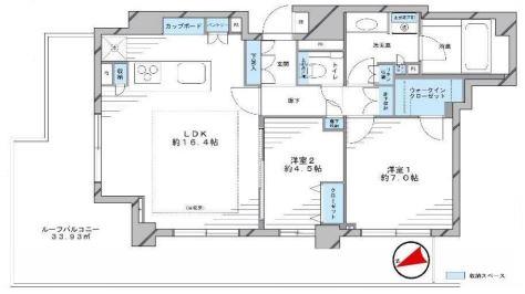 ミッドガーデン赤坂氷川1001号室 (1)
