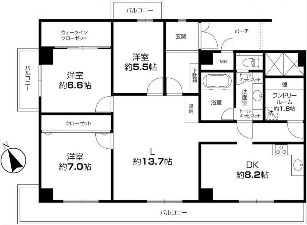 秀和四谷パークサイドレジデンス203号室