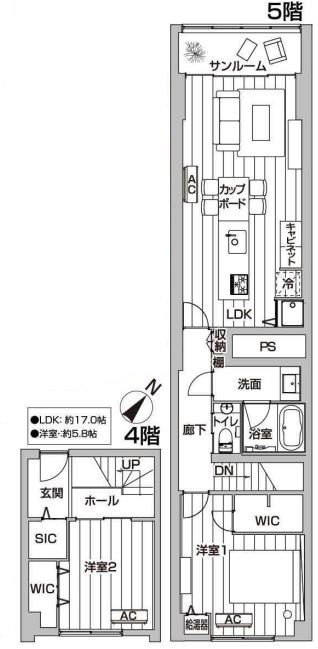 ニュー赤坂コーポラス505号室 (1)
