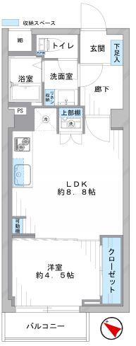秀和桜丘レジデンス709号室 (1)