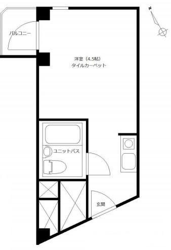 ソフトタウン青山_4F間取り図