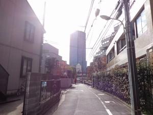 赤坂リキマンション外観共用部 (4)