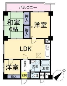 南青山スカイハイツ3階部分