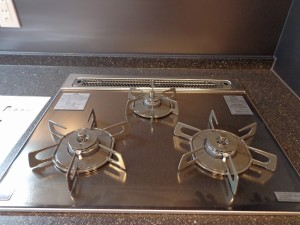 青山コーポラスのキッチンコンロ画像