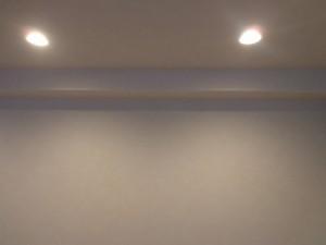 青山コーポラスの室内照明