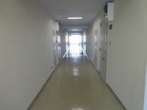 南青山スカイハイツの共用廊下