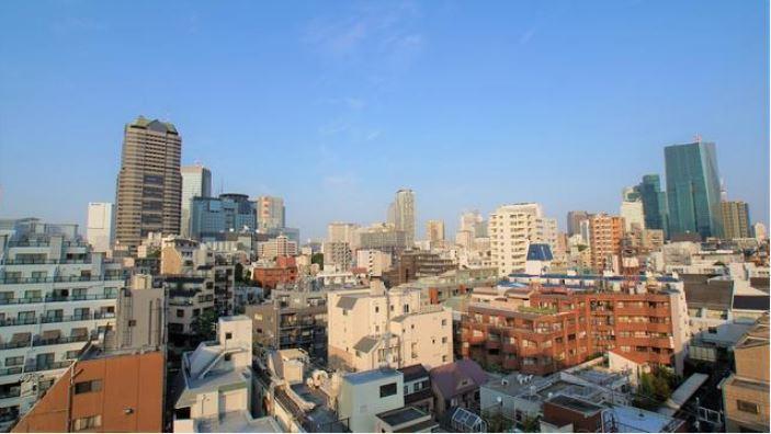 シャトー赤坂台6F-眺望写真