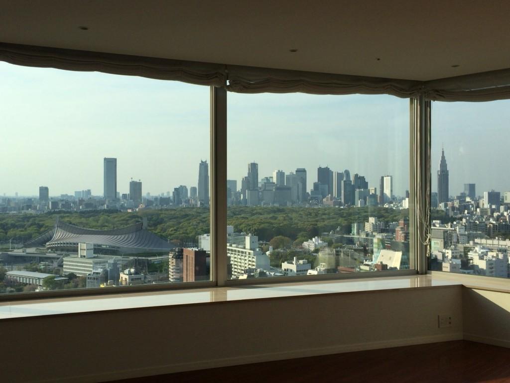 青山パークタワー-眺望写真