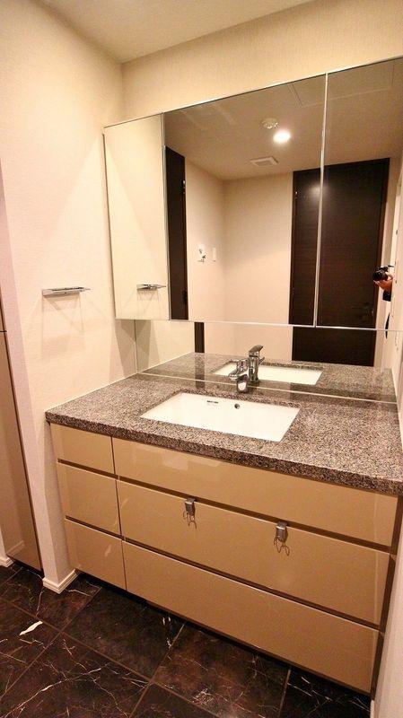 プレミスト赤坂檜町公園の洗面室