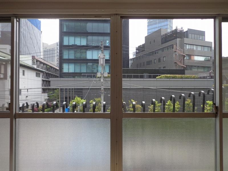 秀和六本木レジデンスの室内からの眺望