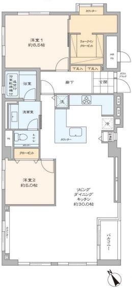 ハウス南青山4F-間取り図