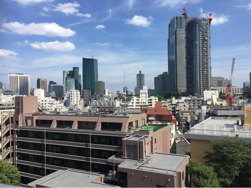 赤坂アーバンライフ-室内眺望写真
