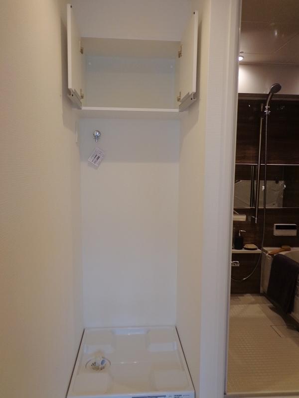 シャトー赤坂台2F-洗濯機置き場写真
