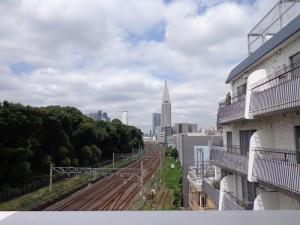 秀和第二神宮レジデンス-共用部からの眺望写真