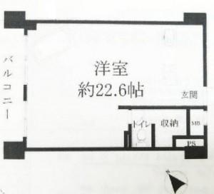 南青ハイツ2F-間取り図